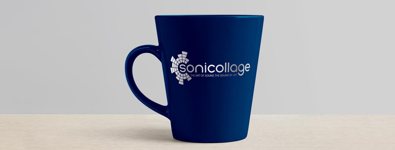 Sonicollage mug